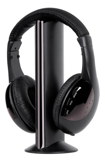 Fone Ouvido Headphone Wireless 5x1 Sem Fio Pc Smart Tv - 323