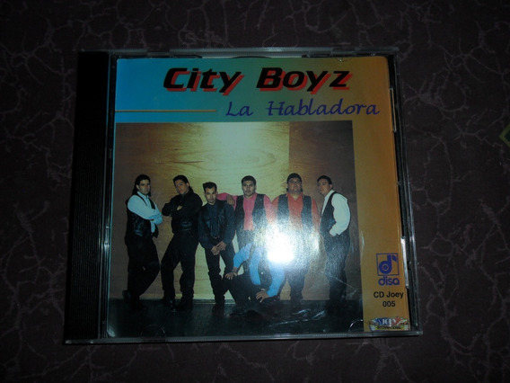 City Boyz Cd La Habladora Tejano Disa
