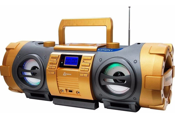 Rádio Lenoxx Bd1500 Bluetooth Cd Player Fm Estéreo Mp3 Usb A
