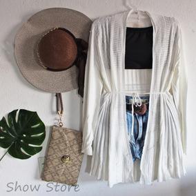 Kimono Casaco Linha Frio Tricot Importado Sueter Suéter 2553