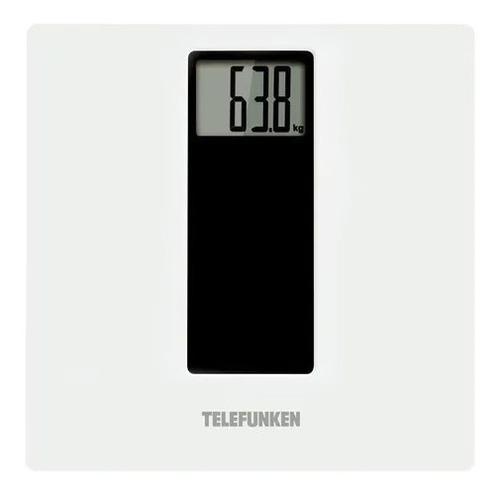 Imagen 1 de 5 de Balanza Digital Personal Telefunken 150 Kg - Vidrio Templado