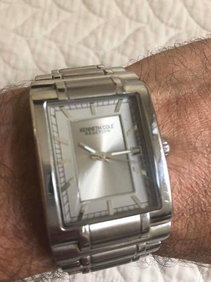 Relógio Kenneth Cole Reaction , Original,usado (sem Bateria)