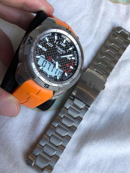 Reloj Tissot T-touch Expert Con 2 Correas