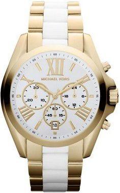 Relógio Michael Kors Mk5743 Pulseira Mista Cerâmica