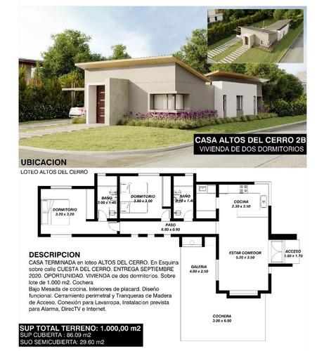 Imagen 1 de 1 de Casa A Estrenar Merlo San Luis