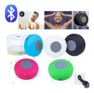 Parlante Bluetooth Recargable Para La Ducha Resistente Agua