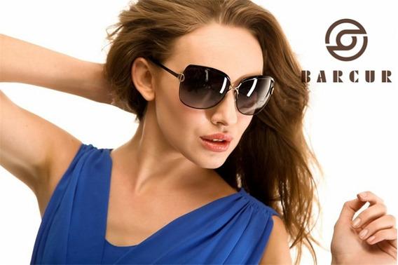 Óculos De Sol Feminino Polarizado Barcur Lançamento Original