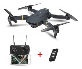 Drone Eachine E58 Camera Wifi Fpv Dobravel + 1 Bateria Extra