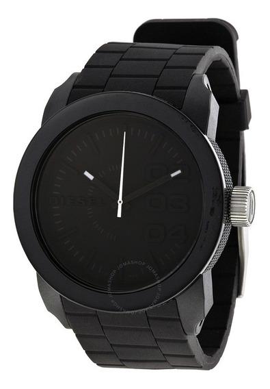 Relógio Diesel Masculino Silicone Fundo Preto Dz14378pn Original Promoção Pronta Entrega