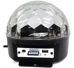 Bola Maluca Bluetooth P/ Festa Led Mp3 Usb Para Festa