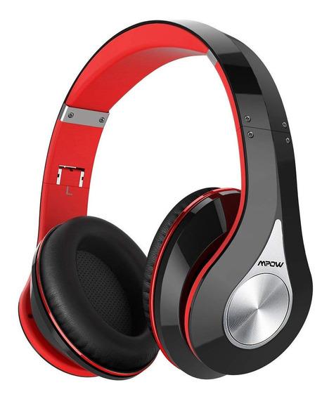 Mpow 059 Bluetooth Headphones Over Ear - Color Rojo