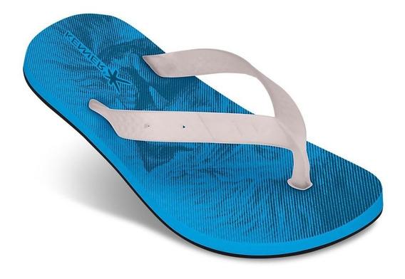 Sandália Azul/transparente Kenner Frete Free 011739