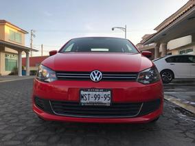 Volkswagen Vento 1.6 Active Mt Rojo 4p 2015