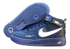 Tenis Bota Cano Alto Nike Air Force Frete Gratis + Brinde