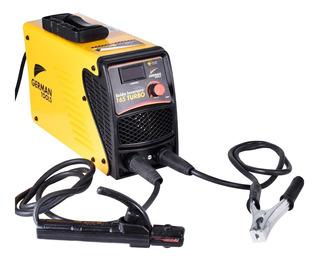 Solda Inversora Mma 165 Turbo 160a German Tools 220v