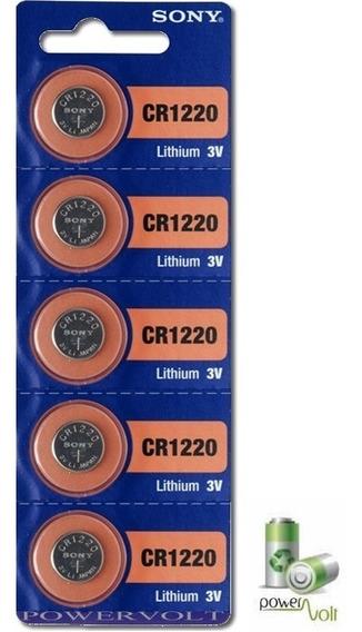 Bateria Sony Cr1220 | Cartela 5 Pilhas