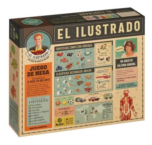 Imagen 1 de 7 de El Ilustrado Juego Mesa Maldón Cultura General Lelab 45096