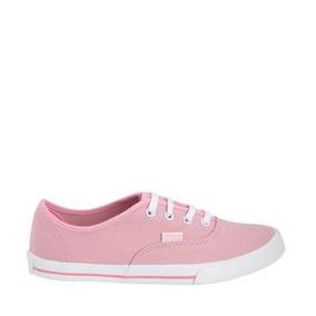 Tenis Casual Corte Clasico Dama Rosa