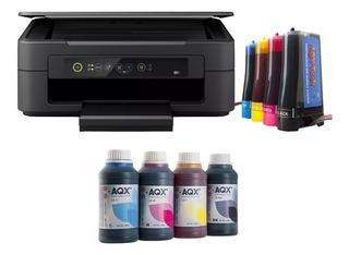 Impresora Epson Xp 2101 + Sistema Continuo Aqx + 1l Extra