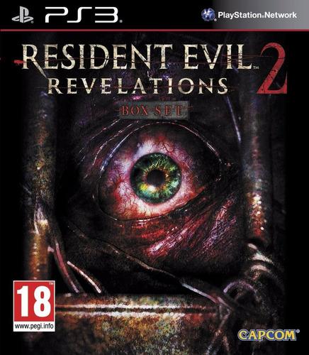 Resident Evil 2 Revelations Ps3 Juego Cd Blu-ray Nuevo Original Físico Sellado En Stock Entrega Inmediata