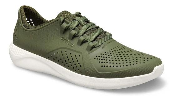 Crocs Literide Pacer M Army Green
