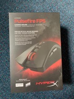 Gaming Mouse Hyperx Pulsefire Fps (novo Lacrado)