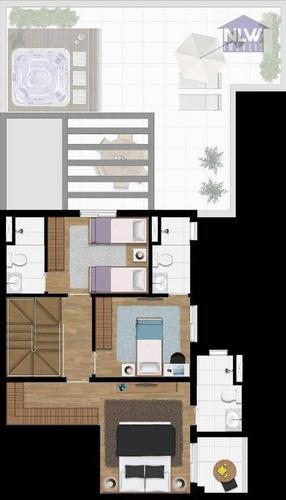 Imagem 1 de 14 de Cobertura Com 3 Dormitórios À Venda, 172 M² Por R$ 886.844,00 - Vila Militar - Barueri/sp - Co0042