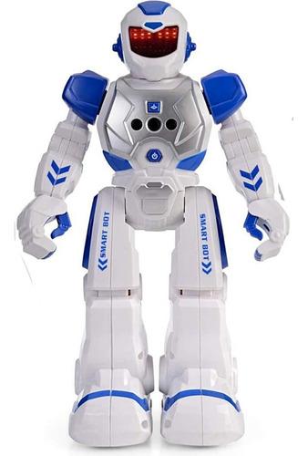 Robot Inteligente Con Control Remoto Y Control De Gestos