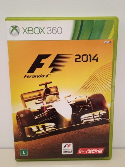 Formula 1 2014 Xbox 360 M/ Física Original P/entreg F1 2014