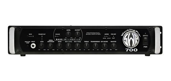 Amplificador P/ Bajo Swr Working Pro 700 Cabezal