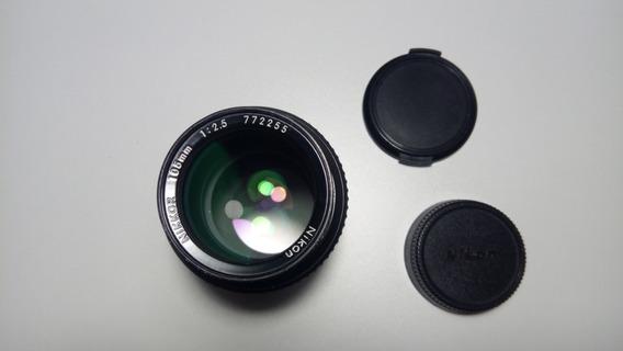 Lente Objetiva Nikkor 105mm F/ 2.5 Ai