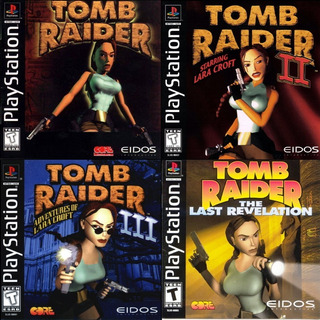 Tomb Raider 1 2 3 4 Underworld Pack 7 Juegos Juegos Ps3 Psn