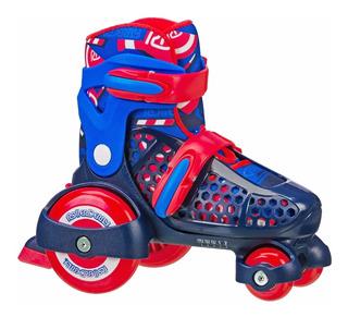 Patines Roller Derby 4 Ruedas Principiantes Niño Ajustables