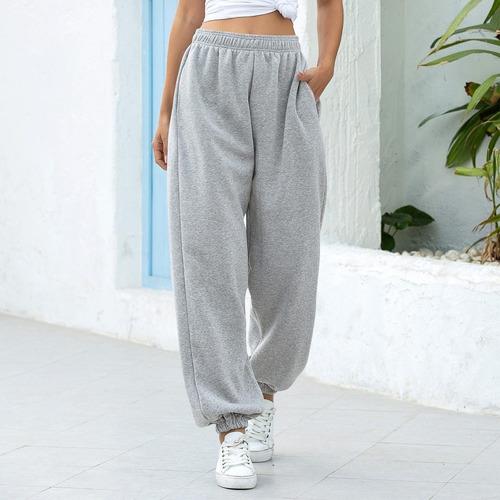 Houzhou Punk Pantalones Para Mujer 2020 Moda Cadena Ancho Pe Mercado Libre