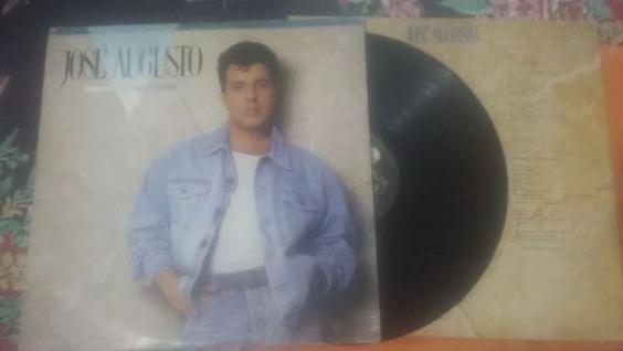 Lp Vinil José Augusto 1990 - Com Encarte