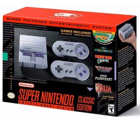 Super Nintendo Classic Edition Mini Americano Snes + Nfe