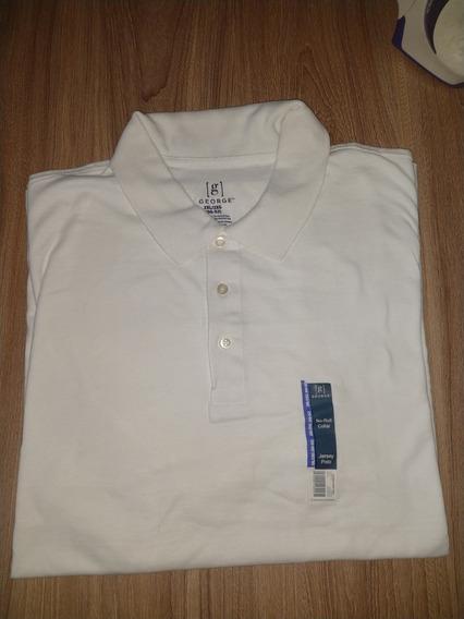 Camiseta Tipo Polo Marca George 2xl Y 3xl