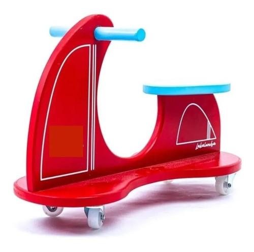 Imagen 1 de 3 de Moto Pata-pata - Juego Montessori Para Niños Lakalumba