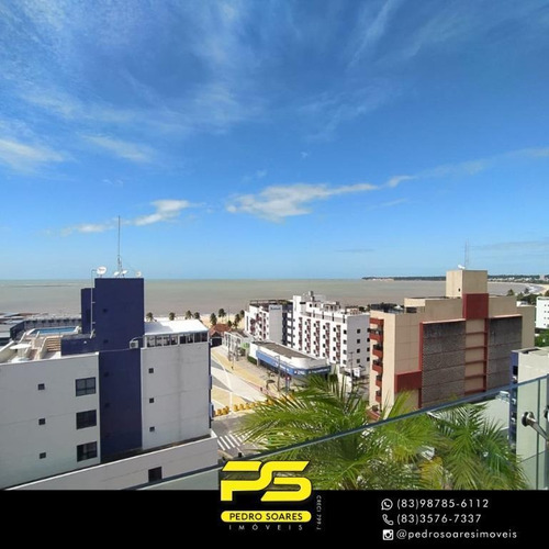 Imagem 1 de 18 de Flat Com 1 Dormitório Para Alugar, 35 M² Por R$ 3.000,00/mês - Cabo Branco - João Pessoa/pb - Fl0120
