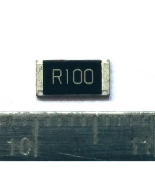 20pc Resistor 0.1 Ohm 1% 1w Smd 2512 R100 0r100 100moh Shunt