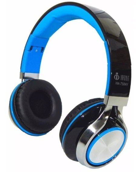 Headphone Gamer Pc Celular Chat Hm-750mv Infokit