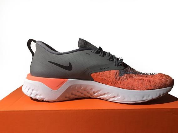 Tênis Feminino Nike Odyssey React 2 Flyknit Cinza Original