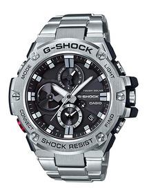 Relógio G-shock Casio G-steel Solar Bluetooth Gst-b100d-1acr