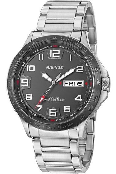 Relógio Magnum Masculino Original Preto Ma32514t