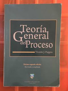 Libro Teoría General Del Proceso Vicente J. Puppio 10ma2daed