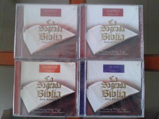 Evangelios De La Sagrada Biblia (audio Libros, C/u) (3)