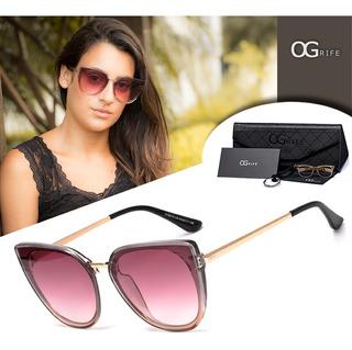 Oculos Ogrife Solar Feminino Og 1153-c Proteção Uv Original