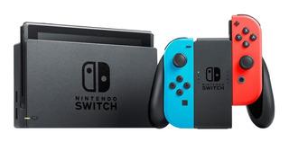 Nintendo Switch 32GB Standard rojo neón, azul neón y negro