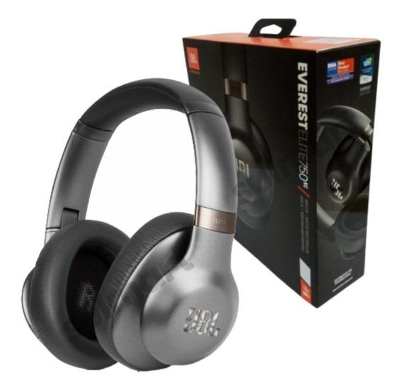 Headphone Jbl Everest Elite 750 Nc Original Nota Fiscal Fone De Ouvido Bluetooth Com Noise Canceling Cancelamento Ruídos