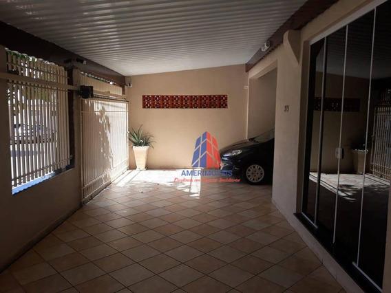 Casa Com 3 Dormitórios À Venda, 180 M² Por R$ 550.000,00 - Cidade Nova - Santa Bárbara D